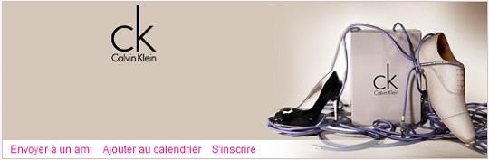 Calvin Klein: Chaussures CK sur Vente-Privee.com